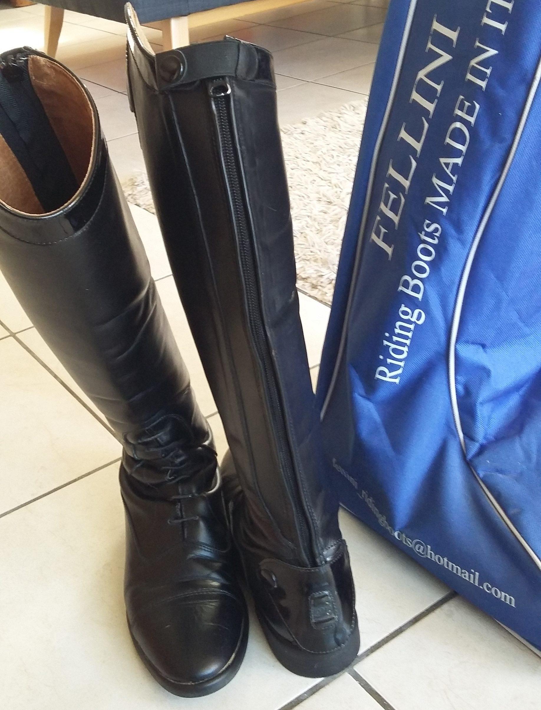 bottes d'équitation