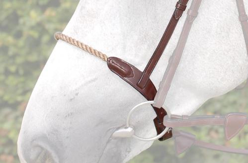 muserolle française équitation